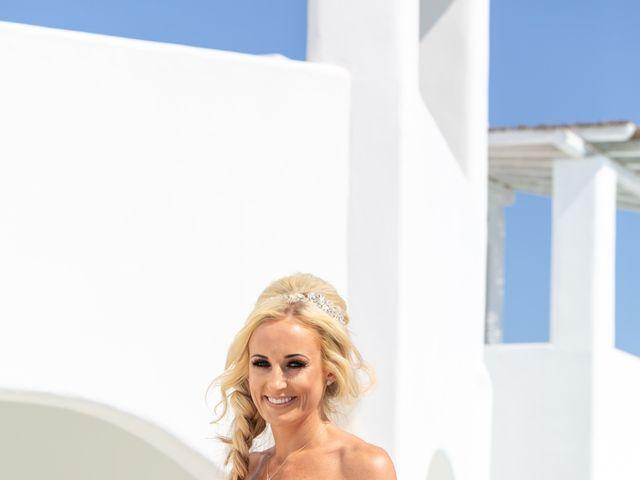 Craig and Angela's Wedding in Santorini, Greece 9