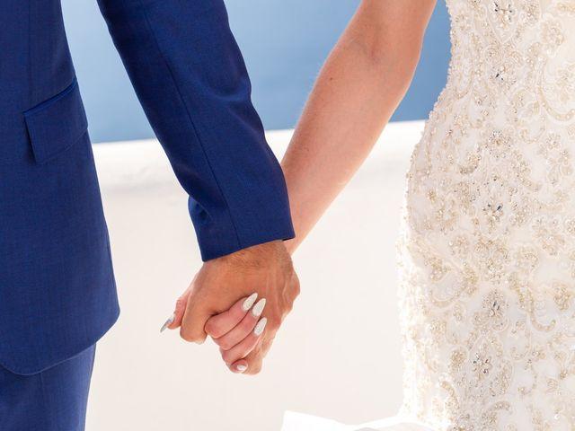 Craig and Angela's Wedding in Santorini, Greece 13