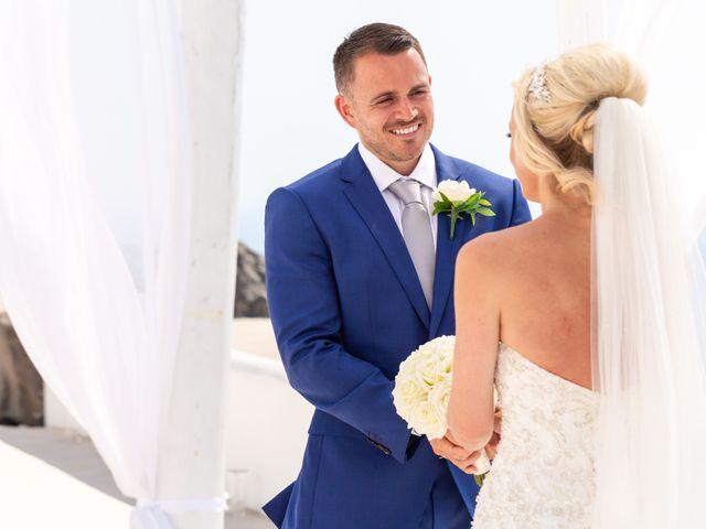 Craig and Angela's Wedding in Santorini, Greece 17
