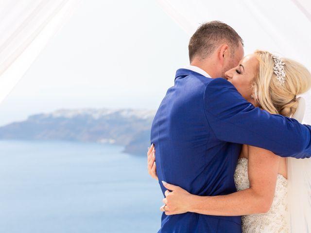 Craig and Angela's Wedding in Santorini, Greece 21