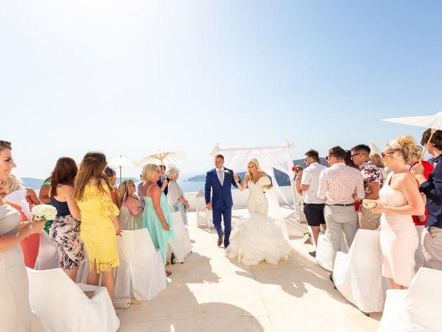 Craig and Angela's Wedding in Santorini, Greece 23