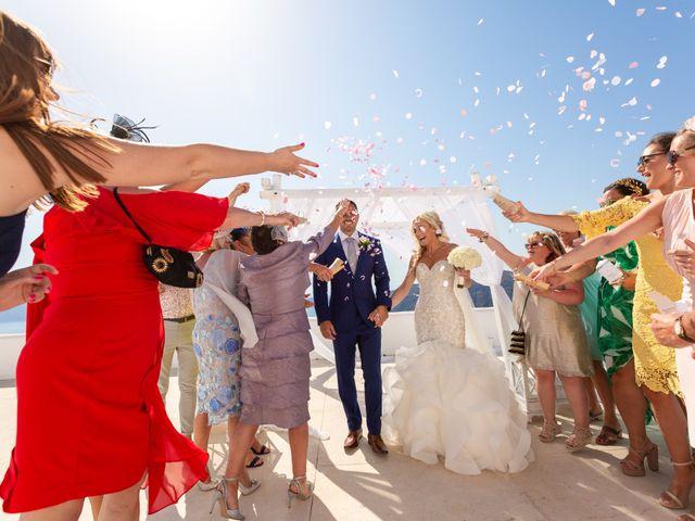Craig and Angela's Wedding in Santorini, Greece 24