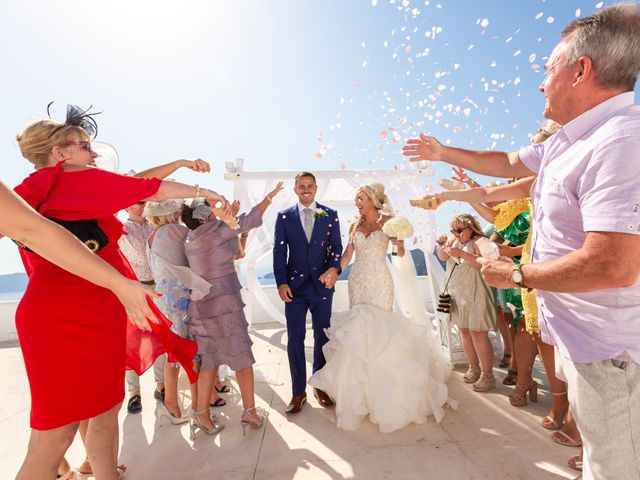 Craig and Angela's Wedding in Santorini, Greece 25