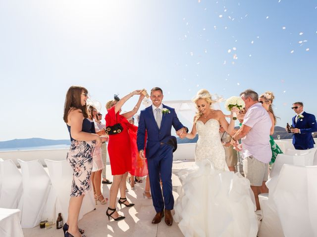Craig and Angela's Wedding in Santorini, Greece 26