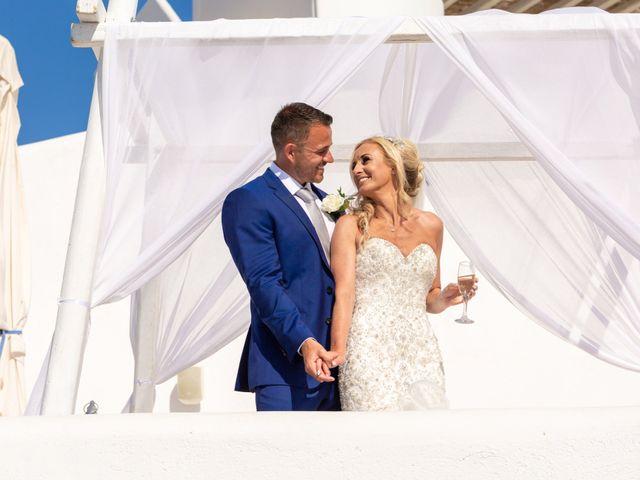 Craig and Angela's Wedding in Santorini, Greece 27