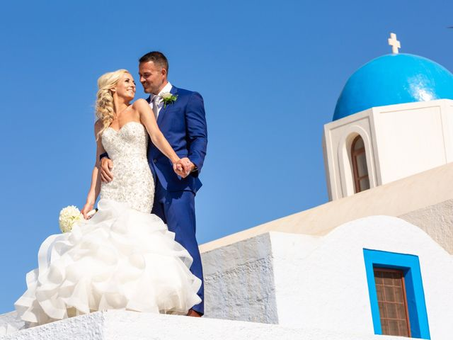 Craig and Angela's Wedding in Santorini, Greece 29