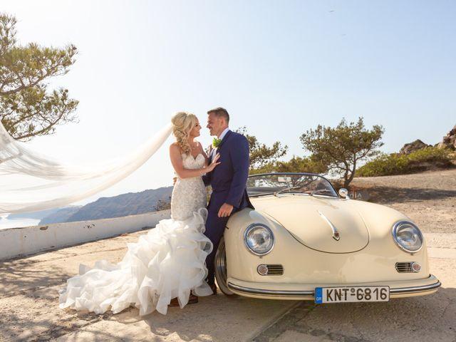 Craig and Angela's Wedding in Santorini, Greece 31