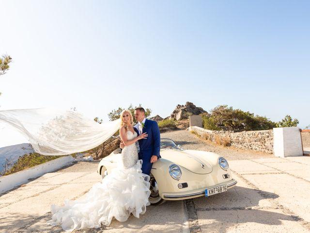 Craig and Angela's Wedding in Santorini, Greece 32