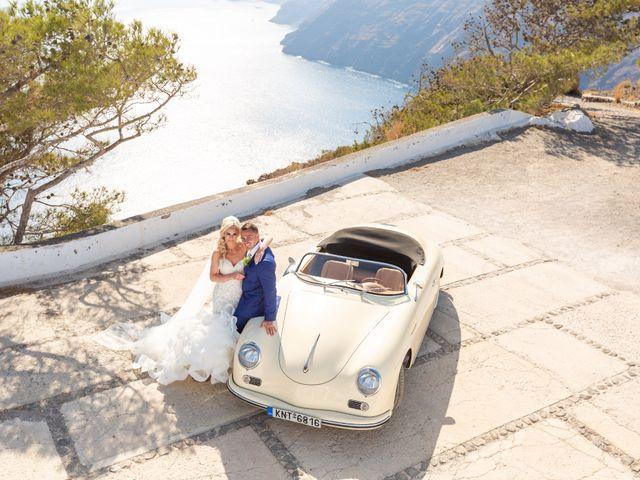 Craig and Angela's Wedding in Santorini, Greece 33