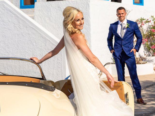 Craig and Angela's Wedding in Santorini, Greece 34