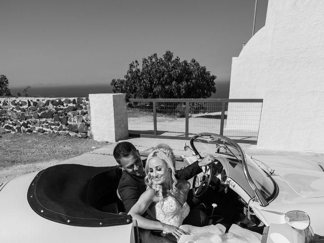 Craig and Angela's Wedding in Santorini, Greece 36