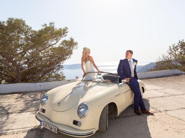 Craig and Angela's Wedding in Santorini, Greece 38