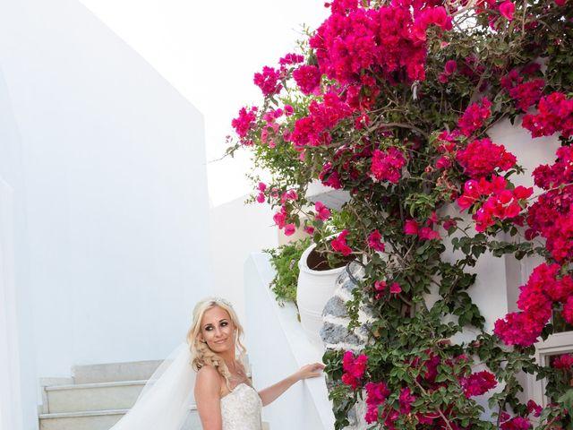 Craig and Angela's Wedding in Santorini, Greece 39