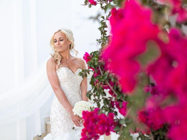 Craig and Angela's Wedding in Santorini, Greece 40