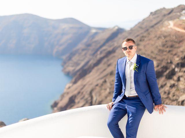 Craig and Angela's Wedding in Santorini, Greece 42