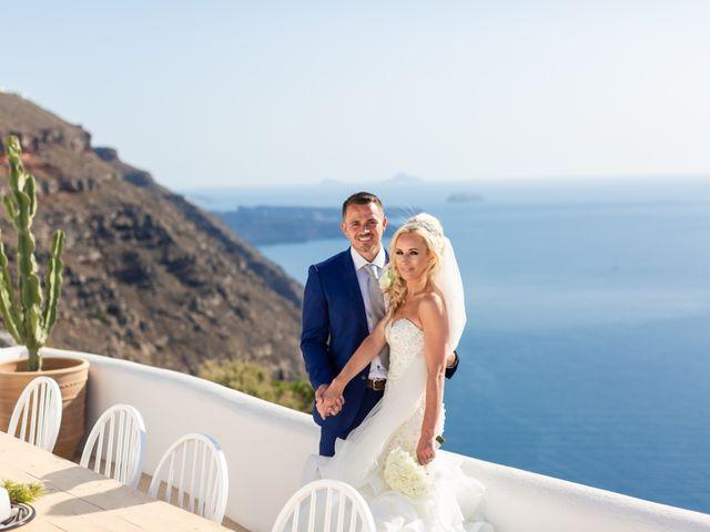 Craig and Angela's Wedding in Santorini, Greece 44