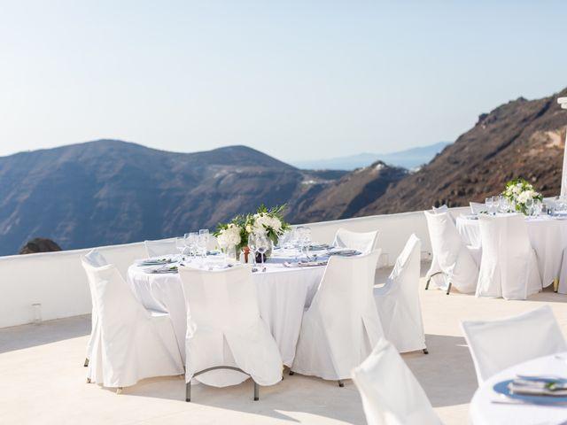 Craig and Angela's Wedding in Santorini, Greece 46