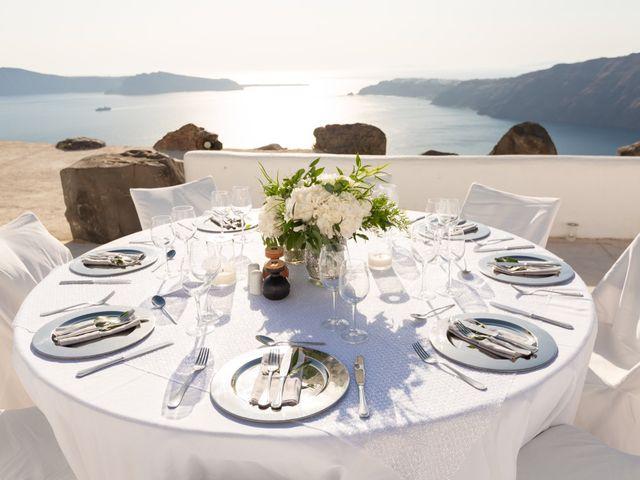 Craig and Angela's Wedding in Santorini, Greece 47