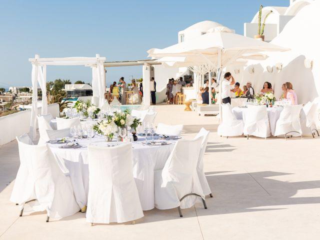 Craig and Angela's Wedding in Santorini, Greece 50