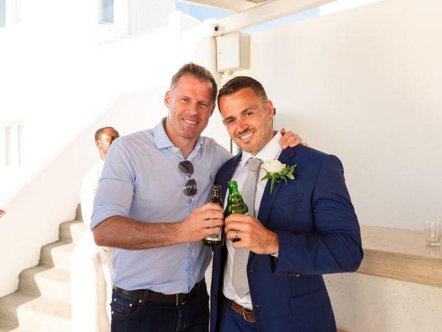 Craig and Angela's Wedding in Santorini, Greece 51