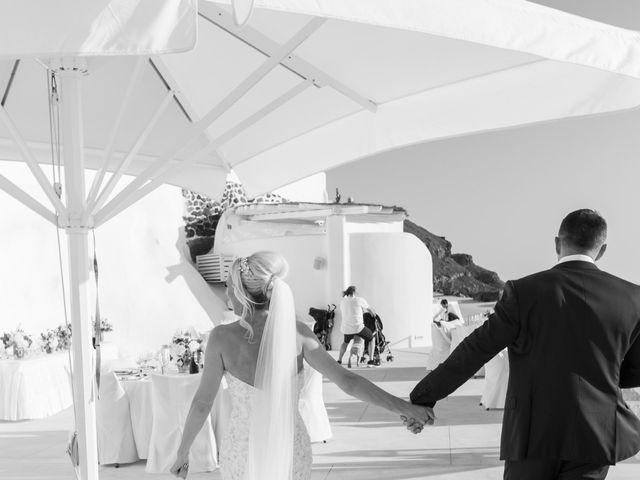 Craig and Angela's Wedding in Santorini, Greece 52
