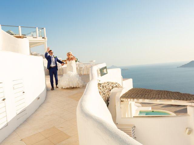 Craig and Angela's Wedding in Santorini, Greece 54