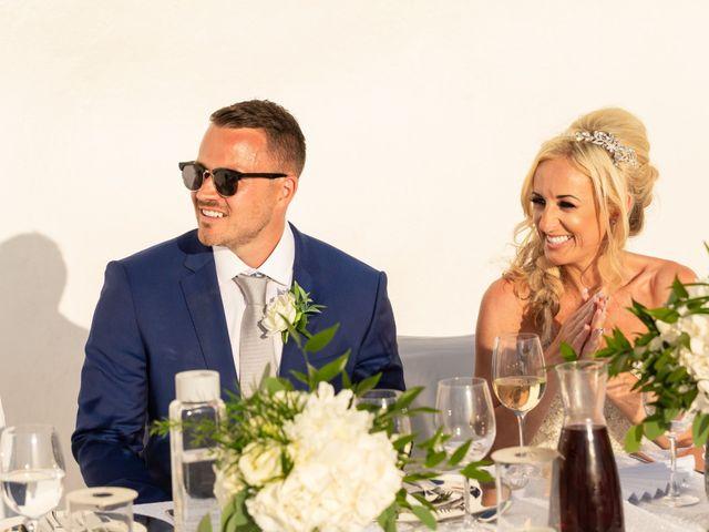 Craig and Angela's Wedding in Santorini, Greece 57