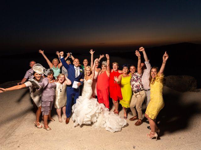Craig and Angela's Wedding in Santorini, Greece 61