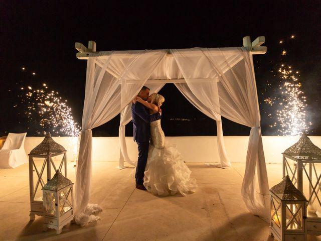 Craig and Angela's Wedding in Santorini, Greece 64
