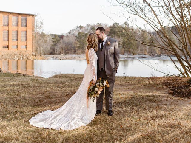 The wedding of Jordan and Drew