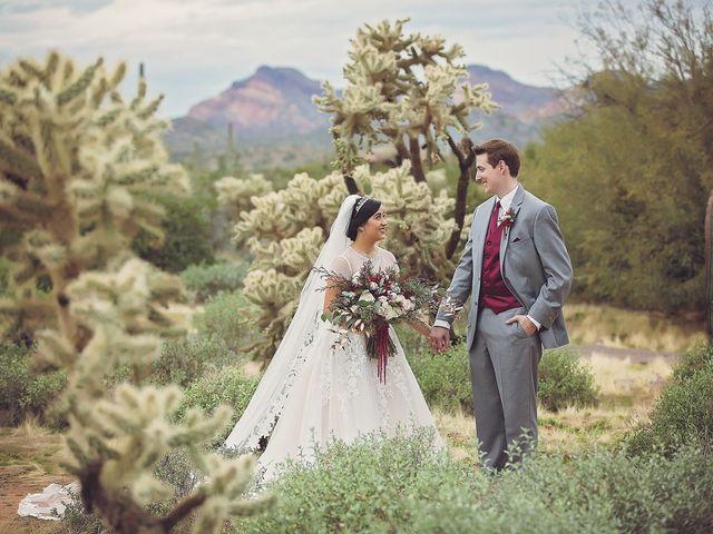 Trisha and Michael's Wedding in Gold Canyon, Arizona 1