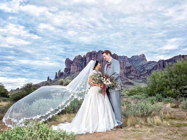 Trisha and Michael's Wedding in Gold Canyon, Arizona 3