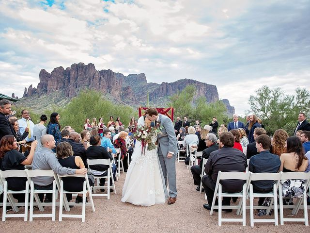 Trisha and Michael's Wedding in Gold Canyon, Arizona 7