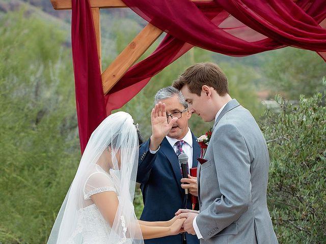 Trisha and Michael's Wedding in Gold Canyon, Arizona 8