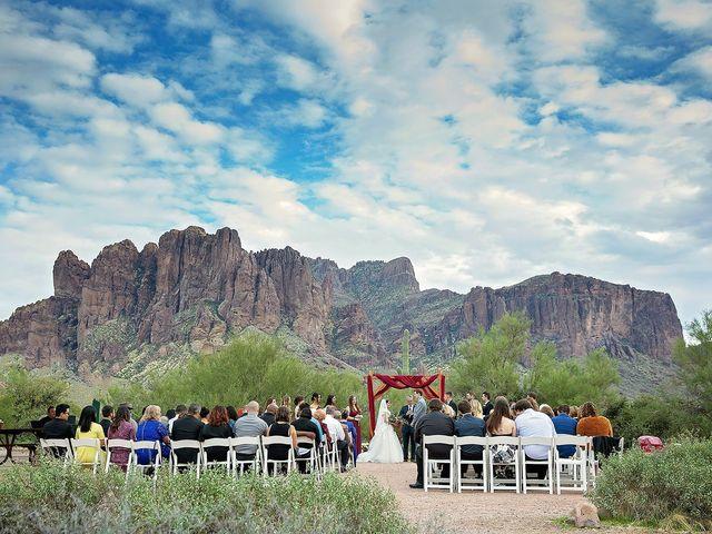 Trisha and Michael's Wedding in Gold Canyon, Arizona 13