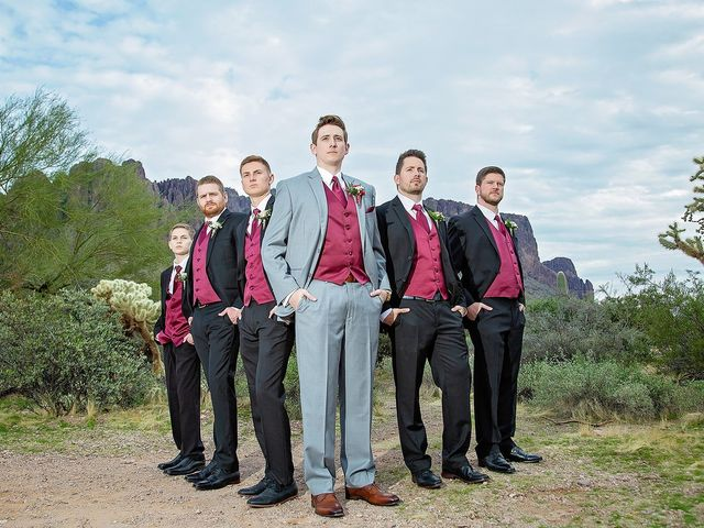 Trisha and Michael's Wedding in Gold Canyon, Arizona 20