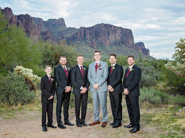 Trisha and Michael's Wedding in Gold Canyon, Arizona 22
