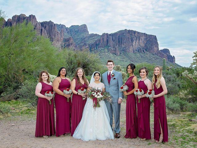 Trisha and Michael's Wedding in Gold Canyon, Arizona 26