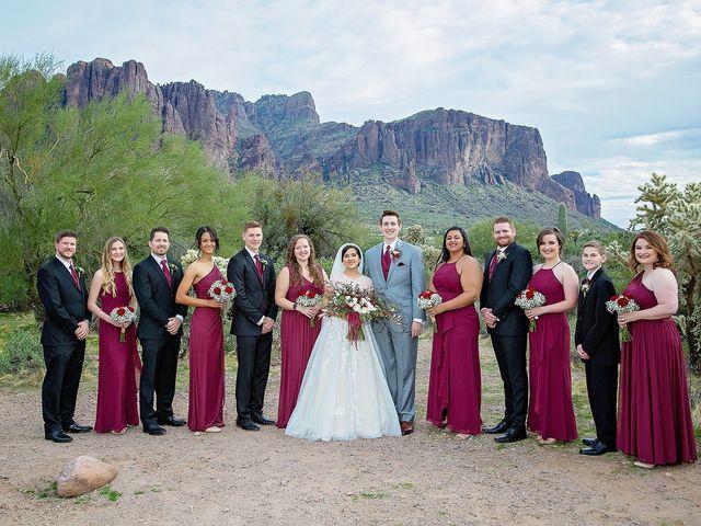 Trisha and Michael's Wedding in Gold Canyon, Arizona 28