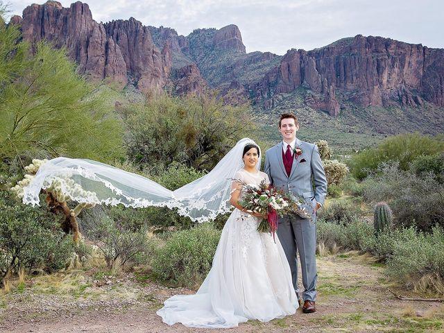 Trisha and Michael's Wedding in Gold Canyon, Arizona 30