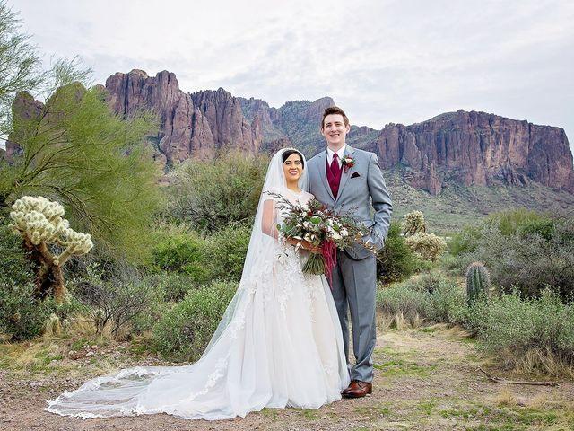 Trisha and Michael's Wedding in Gold Canyon, Arizona 32
