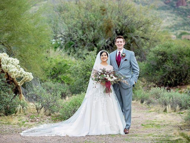 Trisha and Michael's Wedding in Gold Canyon, Arizona 33