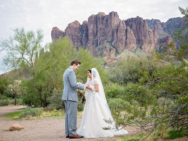 Trisha and Michael's Wedding in Gold Canyon, Arizona 34