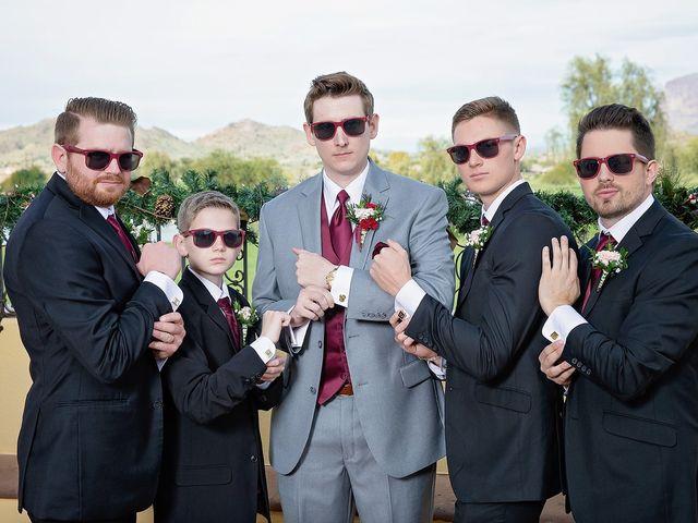 Trisha and Michael's Wedding in Gold Canyon, Arizona 42