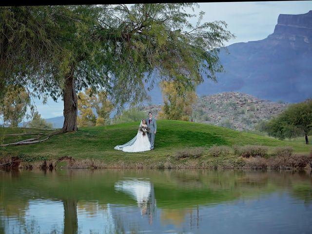 Trisha and Michael's Wedding in Gold Canyon, Arizona 70