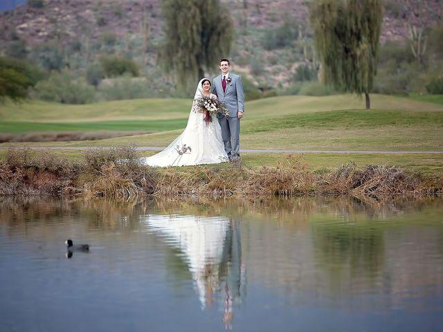 Trisha and Michael's Wedding in Gold Canyon, Arizona 71