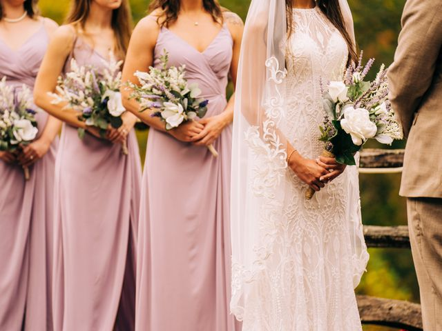 Stirling and Abbey's Wedding in Hot Springs, North Carolina 9