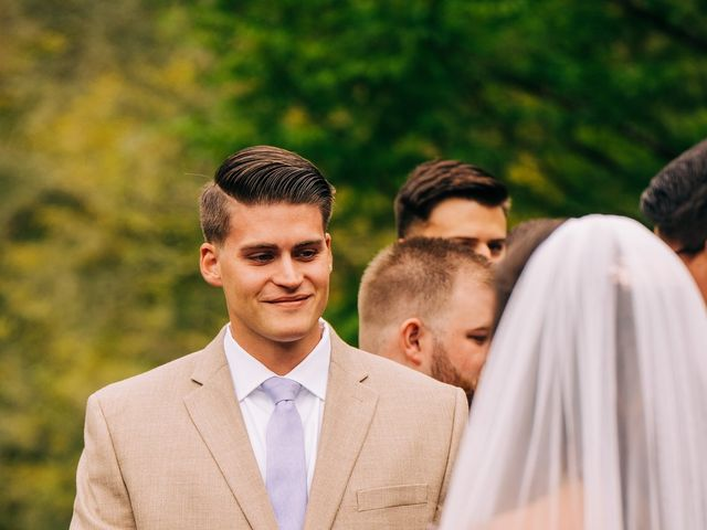 Stirling and Abbey's Wedding in Hot Springs, North Carolina 10