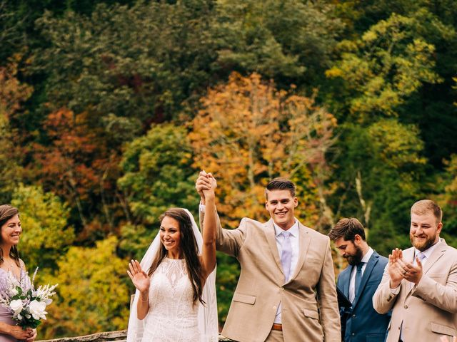 Stirling and Abbey's Wedding in Hot Springs, North Carolina 13