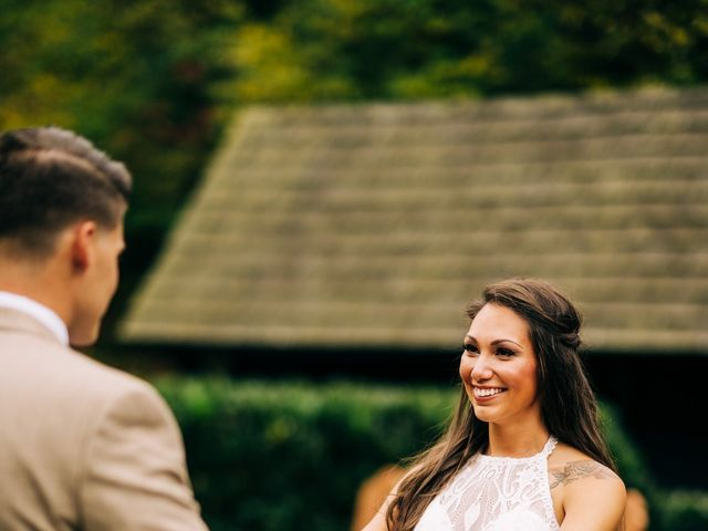 Stirling and Abbey's Wedding in Hot Springs, North Carolina 21